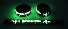 Depeche Mode NEW! Glow in the Dark Rubber Bracelet Wristband Heaven gg191