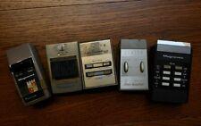 Vintage Tv remotes set of 5