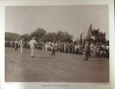 16x20 GICLEE PRINT: HARRY VARDON TED RAY LOW SMITH GOLF HISTORY BALTUSROL 1913