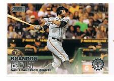 1ST DAY ISSUE #/10 2016 Topps Stadium Club Brandon Belt - San Francisco Giants