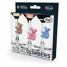 NEW Fred Social Climbers Koala Party Wine Glass Markers