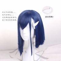 Anime Darling in the FranXX Ichigo Cosplay Full Wig Short Hair Wigs Women's Wig