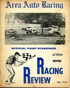 1968 AREA AUTO RACING NEWS RACING REVIEW