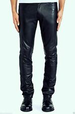 Men's Nappa Leather Jeans Pant Light Weight 5 Pockets Model Brand New All Size