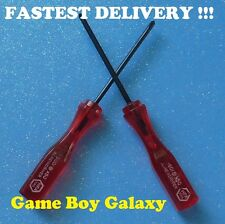 2 Screwdrivers TRI-WING cross PHILLIPS Y Nintendo tools Game Boy Color gba sp ds
