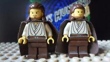 LEGO® Star Wars™ Qui Gon Jinn Jedi (lot of 2) minifig - Lego 7161 7101 7204 7121