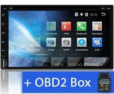 Android Autoradio mit Navi Navigation Bluetooth 2 DIN Tristan Auron OBD DVD CD