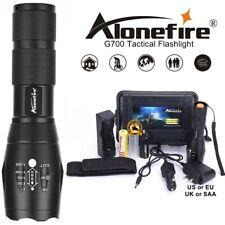 Powerful G700 Flashlight Cree XML T6 L2 led Aluminum Waterproof Zoom Camping