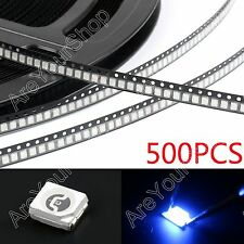 500Pcs 3528 Blue Azul Light SMD LED Diodes Emitting Strip Light