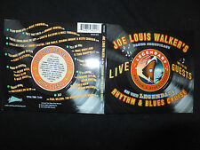 CD JOE LOUIS WALKER ON THE LEGENDARY RHYTHM & BLUES CRUISE / LIVE /
