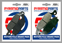 Front Brake Pads (2 Pairs) for Suzuki DL 650 V-Strom 04-06