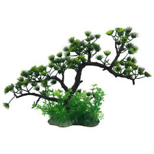 1pc Pine Tree Simulation Green Plant Fish Tank Aquarium Ornament