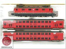 N 1:160 escala locomotive locomotora trenes Trix Minitrix 11463 Set SBB Sihltal<