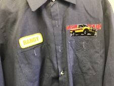 Vintage 90s Datsun Pick Up Mechanic  Auto Shop Men's Large-Long Long Sleeve