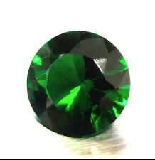 HIGH QUALITY Loose 10MM Round Cut SIMULATED GREEN EMERALD / Glass