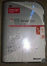 Microsoft Windows SQL Server 2008 Workgroup 5 licenze