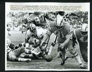 San Diego Chargers vs Cleveland Browns 1970 Press Photo Jeff Staggs
