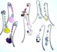 Tibetan Silver Bookmark Disney Character Hand Beaded using Miracle Beads Gift