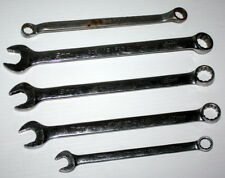 Snap-On Tools 4 Pc SOEX 12,17,18,19MM Flank Dr Wrench Plus 9/16 Box End XB1618