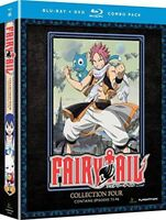 Fairy Tail: Collection Four [New Blu-ray] With DVD, Boxed Set, Dubbed, Subtitl
