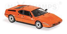 BMW M1 - 1979 - ORANGE 940025020 Maxichamps / Minichamps 1:43 New!