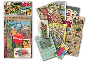 Gardening Memorabilia Gift Pack with over 20 pieces of Replica Artwork