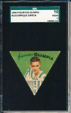 1946 Figuritas Olimpia Enrique Garcia SGC 10 = PSA 1 Super rare! Custom SGC cut!