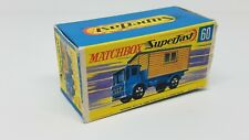 Lesney Matchbox Superfast - #60 Office Site Truck *Box Only*