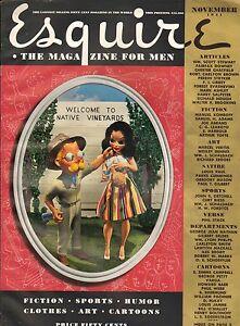 Esquire--Nov. 1941 - Petty & Vargas Gate-fold-----49