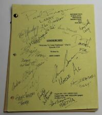 GOOSEBUMPS, 1995 TV Script REAL AUTOGRAPHS BY CAST, Welcome to Camp Nightmare