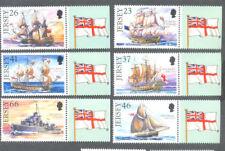 Jersey-ROYAL NAVY SHIPS neuf sans charnière 2001 (979-984) - Navires