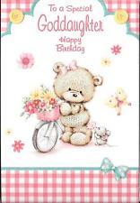 Tarjeta de cumpleaños para un Especial Ahijada-Bicicleta