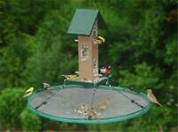 "Songbird Essentials 30"" SeedHoop SEED HOOP SEED CATCHER PLATFORM BIRD FEEDER #dm"