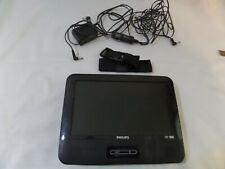 """Philips PET9422/37 Black 7"""" Portable DVD Player Stereo Speaker JPEG"""