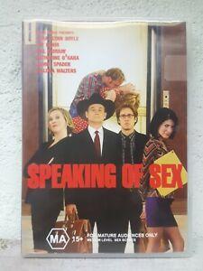 Speaking Of Sex DVD Region 4 Aust COMEDY Lara Flynn Boyle / Bill Murray
