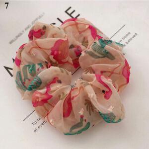 Woman Fruit Scrunchies Girls Elastic Rubber Band Hair Rope Ponytail Holder Gift