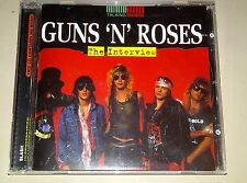 *RARE* GUNS N' ROSES The Interview CD Slash in Conversation Talking Music NEW