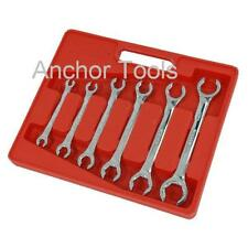 6pc Flare Nut Spanner Wrench Set 6mm to 24mm Opened ended Spanners      1424