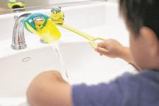New AQUEDUCK Faucet & Handle Extender Combo  Help Kids Reach Faucet Water NO BOX