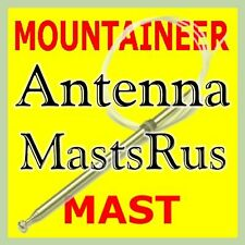 "Mercury MOUNTAINEER AM/FM Power Antenna MAST 1998-2001 Stainless Steel ""NEW"""