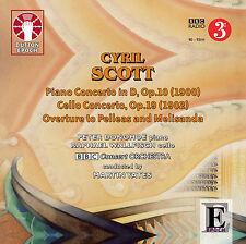 Cyril Scott Piano Concerto & Cello Concerto - CDLX7302