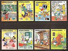 ANTIGUA BARBUDA # 1238-1245 MNH DISNEY Mickey Communications