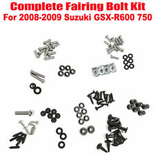 Complete Fairing Body Bolts Kit Washers Nuts For 2008-2009 Suzuki GSX-R 600 750