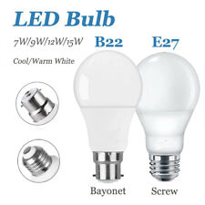10X E27/B22 LED Bulb Cool Warm White Bayonet Screw Ball Lamp Light Globe