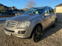 Mercedes ML 320 CDI - Silver - FSH - 2 Owners from NEW - Well Maintained