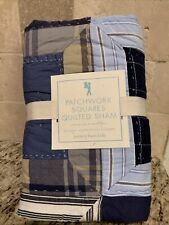 Pottery Barn Kids Quilted European Square Sham- New