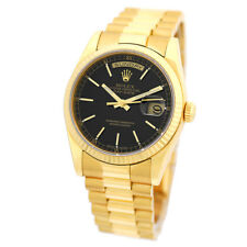 ROLEX New Style 36mm 18K Yellow Gold Day Date President 118238 Box Warranty