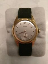 Great Vintage Ladies Eberhard and Co Watch Plaque of GOLD Manual Wind Swiss Made