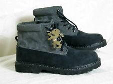 Wasserdichte Leder Stiefel Blau Größe 37 Rutschfeste Boots