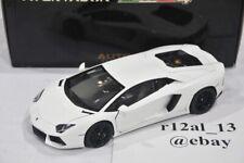 Autoart 1:18 Lamborghini Aventador LP700-4 Bianco Isis/White 74663